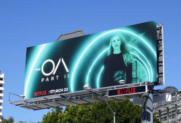 The OA season 2 billboard