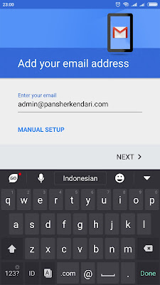 Cara Setting Email Hosting Plesk di Android - 1