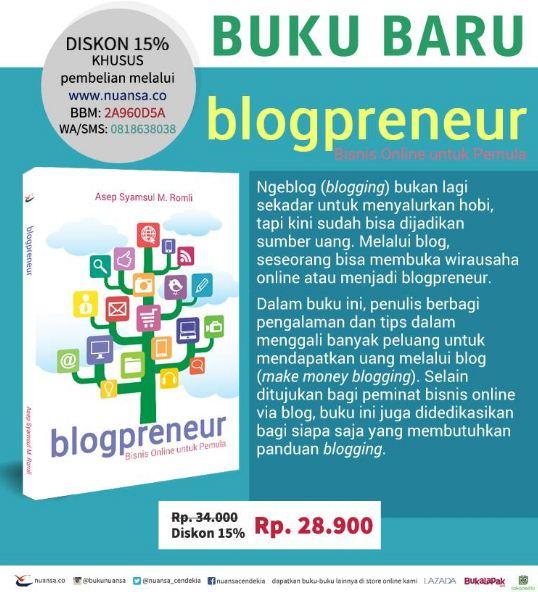 blogpreneur - bisnis online untuk pemula