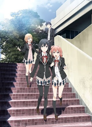 تقرير انمي Yahari Ore no Seishun Love Comedy wa Machigatteiru. Zoku (الموسم الثاني)