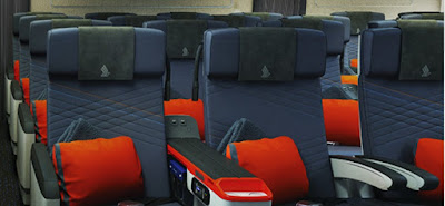 Singapore airlines seats in Premium economy class