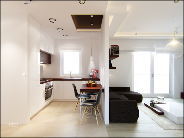 Small Spaces: A 40 Square Meter (430 Square Feet