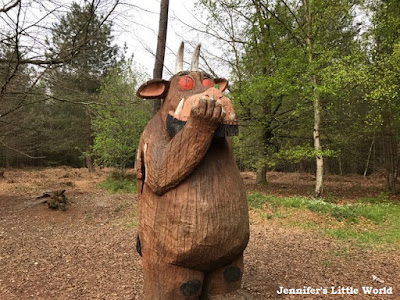 Gruffalo sculpture at Alice Holt