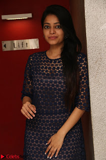 Dazzling Janani Iyer New pics in blue transparent dress spicy Pics 033.jpg