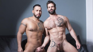 Viktor Rom and Dani Robles Bareback Couch