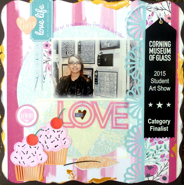 Mitralee Sweet Love Layout Art Show Corning Musuem Of