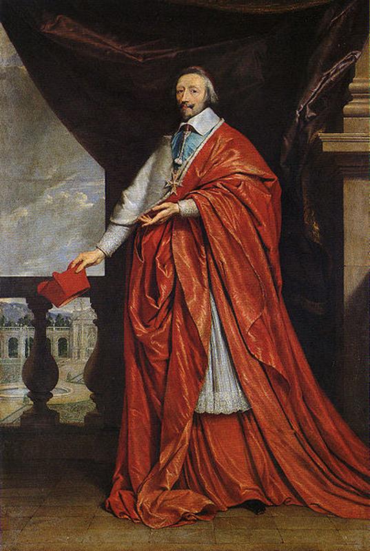 """Резултат с изображение за """"кардинал Ришельо."""""""