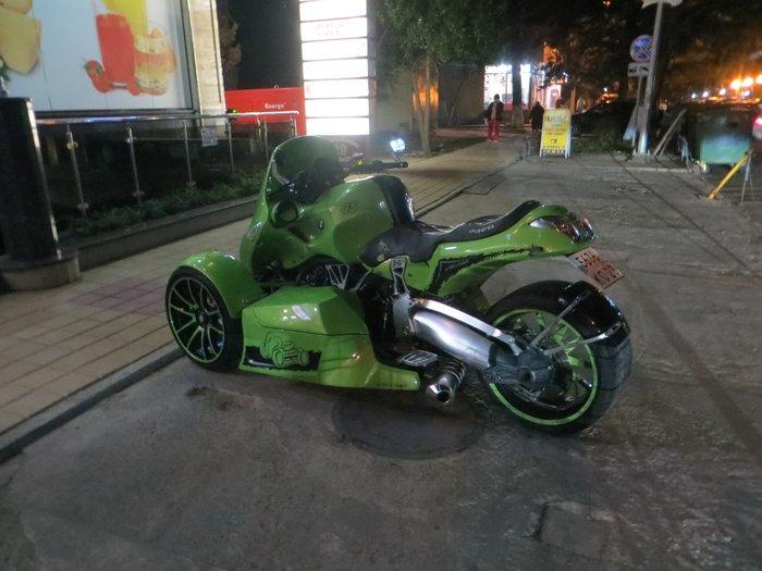 Трехколесный мотоцикл BMW