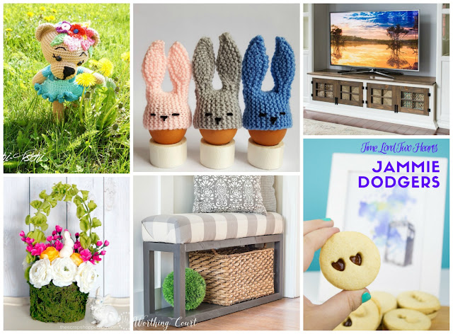Easter Craftastic Monday Link Party