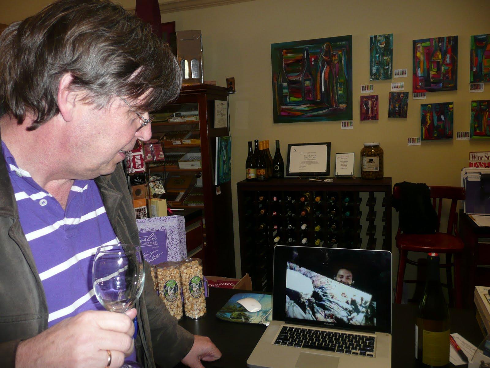 schillerwine Skype and Biodynamic Winemaking