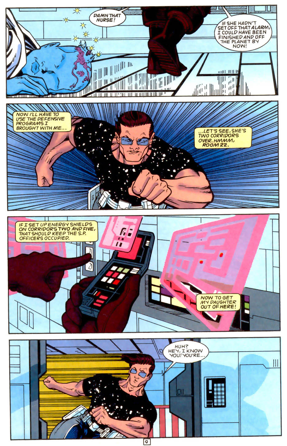 Legion of Super-Heroes (1989) 51 Page 9