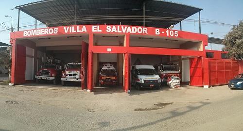 Estación de Bomberos Voluntarios Villa el Salvador Nº 105