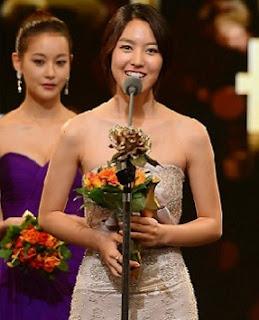 Jin Se-Yun in KBS Drama Awards 2012