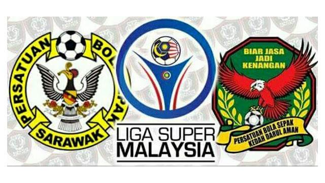 Live Streaming Sarawak vs Kedah 29.9.2017 Liga Super
