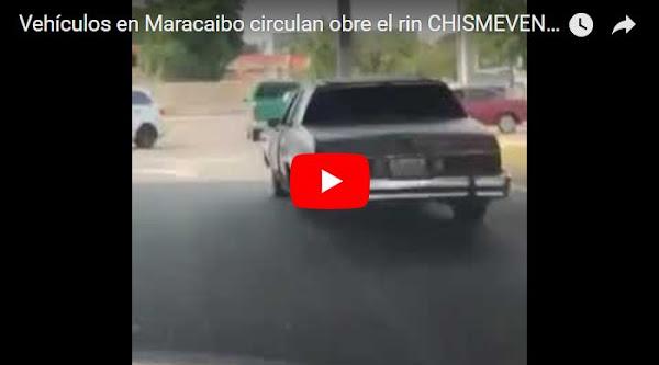 Vehículos en Maracaibo ya no utilizan cauchos para circular