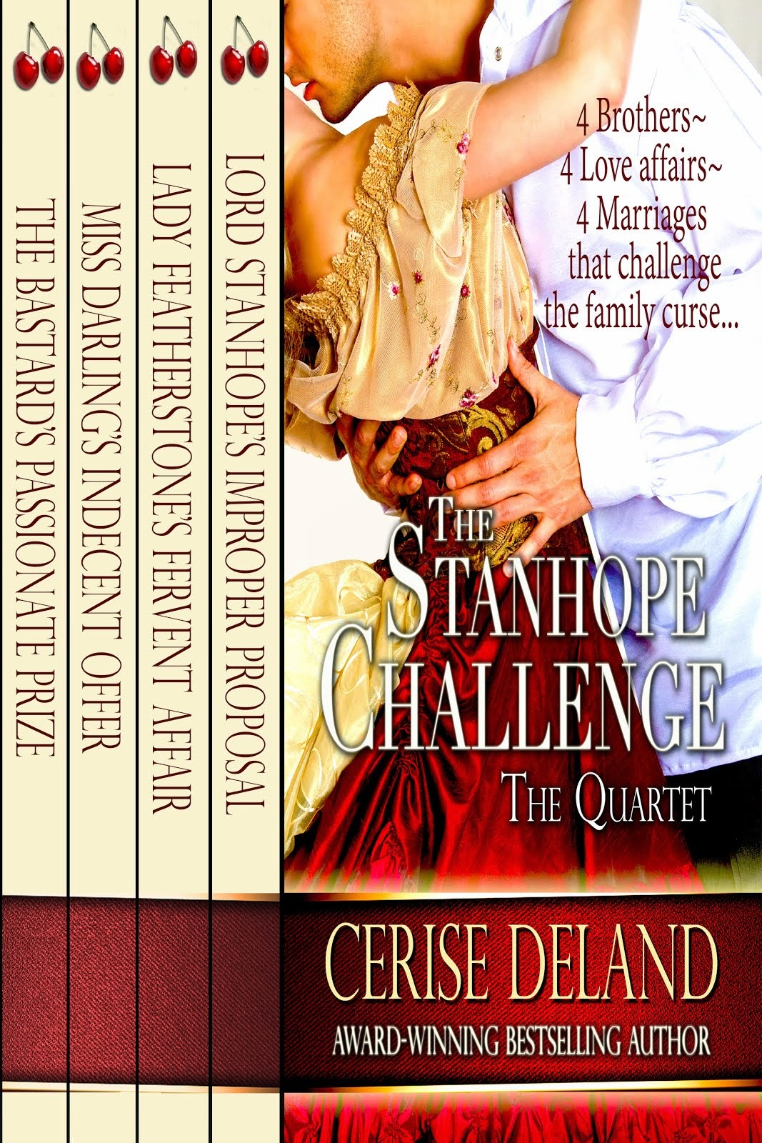 THE STANHOPE CHALLENGE, #1 Regency for 5+ weeks!