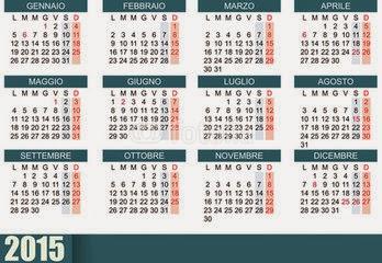 Calendario Anno 2015.Fattitaliani It I Mesi Dell Anno Il Calendario E I Suoi Nomi