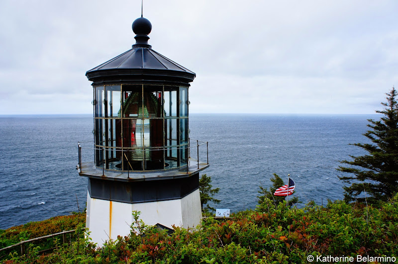 Cape Meares Lighthouse Three Capes Scenic Loop Oregon Coast