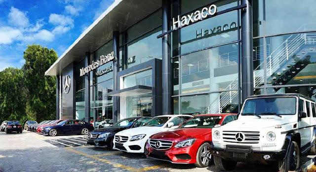 Mercedes Điện Biên Phủ là Đại lý đầu tiên của Mercedes Việt Nam