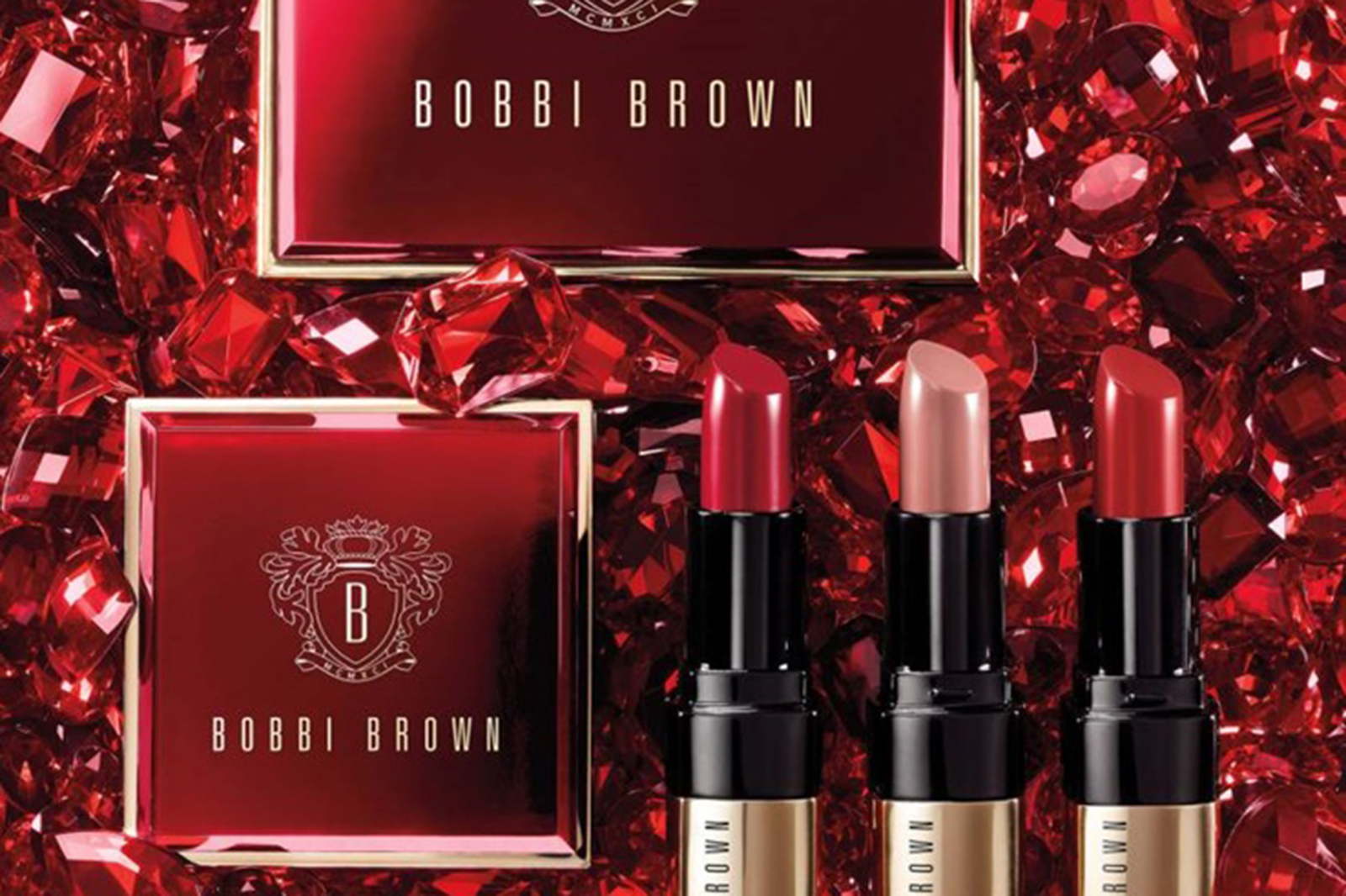 bobbi brown collection caviar & rubies noel holiday 2017