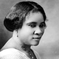 Madam C.J Walker was a first female self-made American Millionaire.