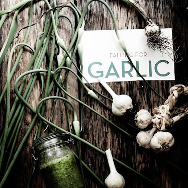 I love growing garlic!