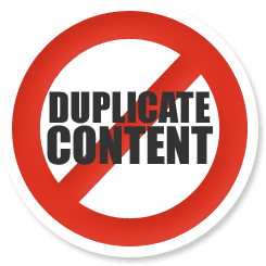 content duplication seo