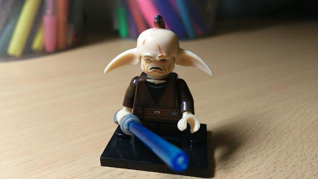 Джедай Эвен Пиелл, фигурка лего Звездные войны