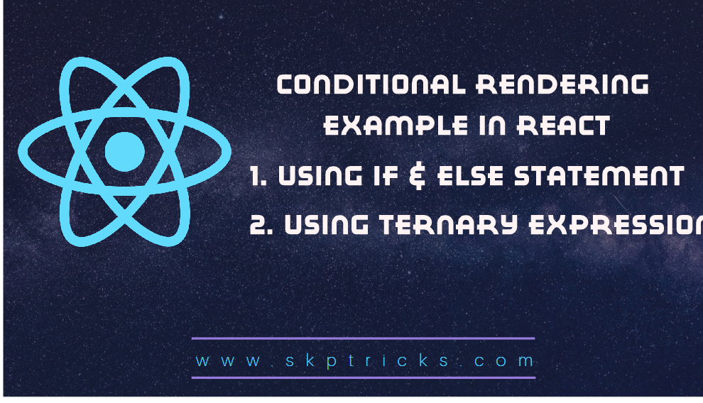 How to Add If…Else Statements in React JSX