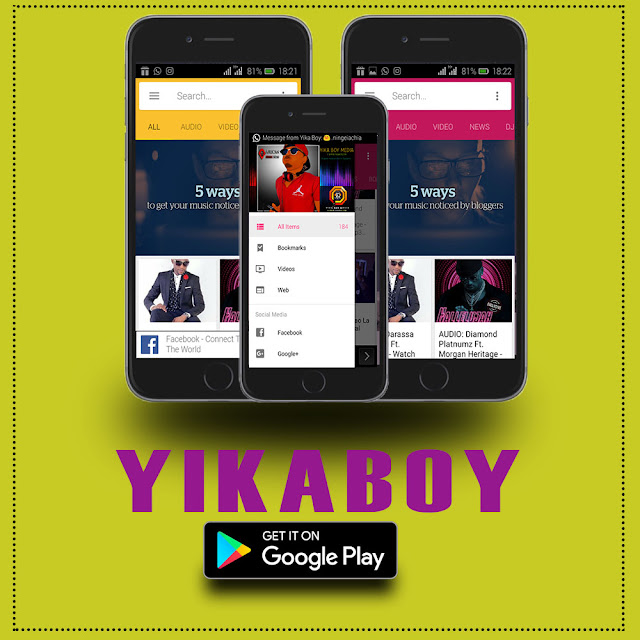 Yika Boy Android App - On Google PlayStore (Version 1.0).