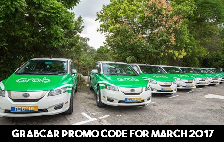 Sharing You These Grabcar Promo Codes for the Month of March 2017