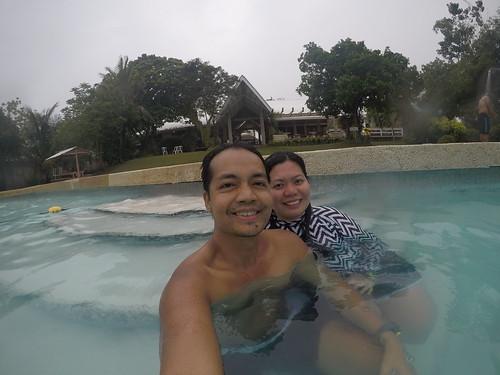 Sta. Fe Beach Club swimming pool in Bantayan Island
