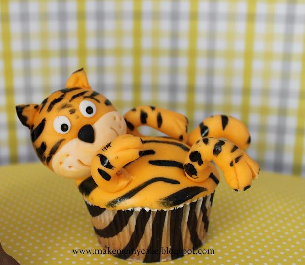 Make Cake Animal Cupcakes