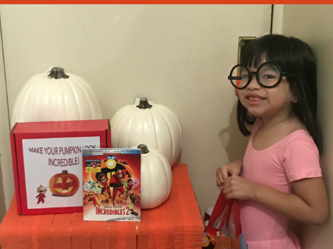 Celebrating Halloween With The Incredibles 2