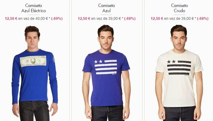 camisetas hombre baratas