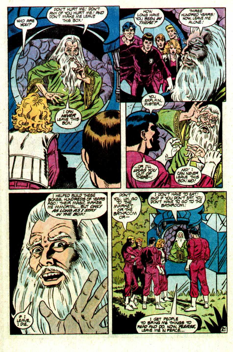 Read online Secret Origins (1986) comic -  Issue #12 - 41