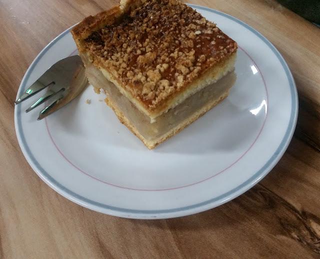 Albion Polish Club, Albion, apple cake