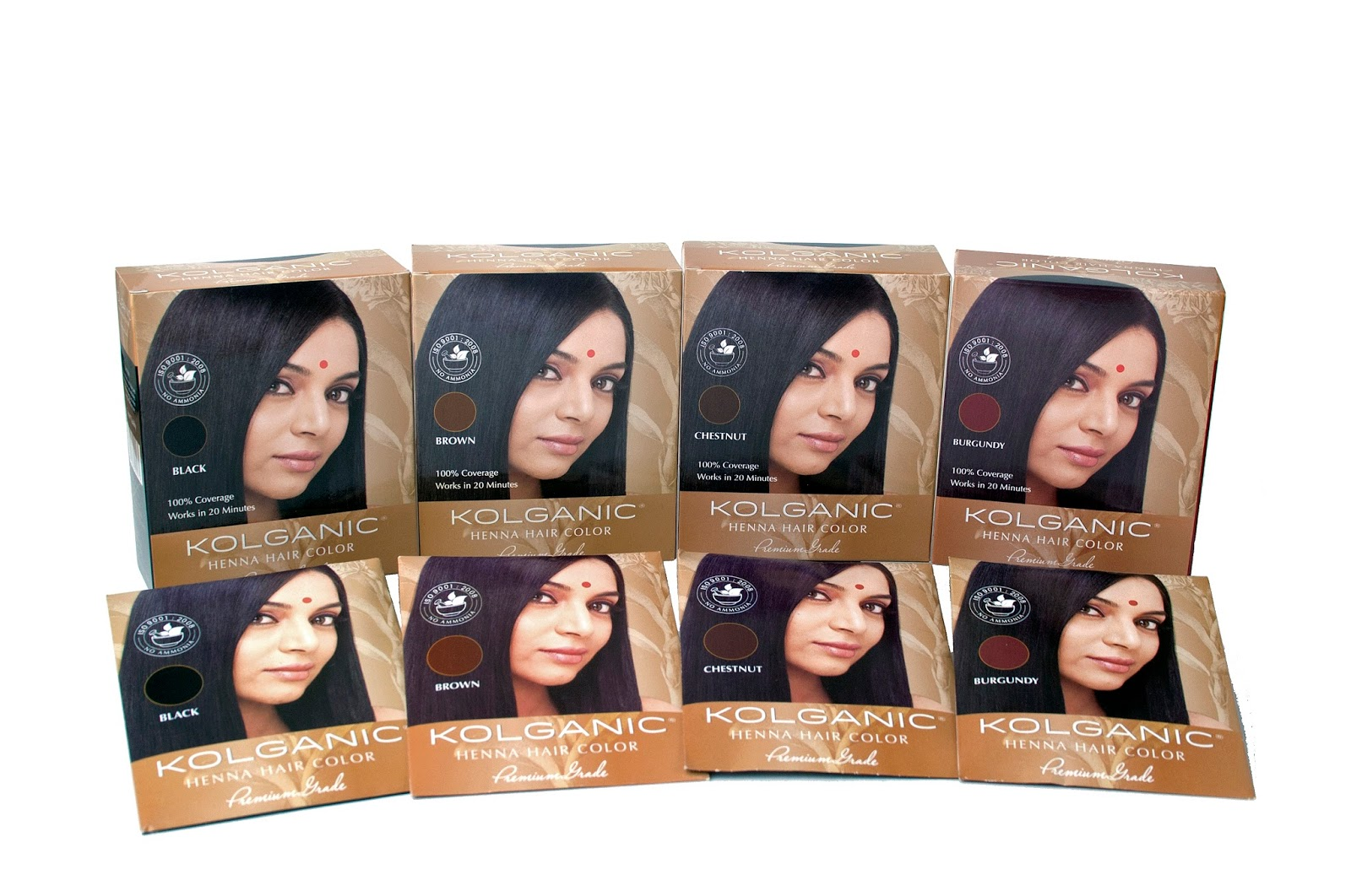 Kolganic Henna Hair Color Offers All Natural Coverage All About