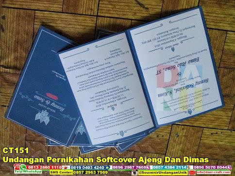 jual Undangan Pernikahan Softcover Ajeng Dan Dimas