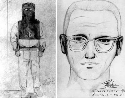 Sketch produced of the Zodiac killer by Bill Armstrong and Dave Toschi