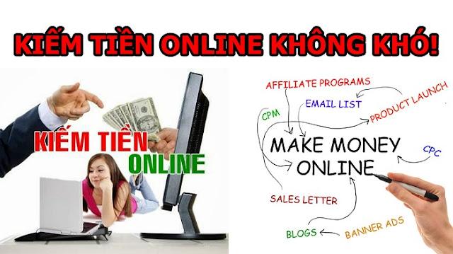kiếm tiền trên mạng như thế nào