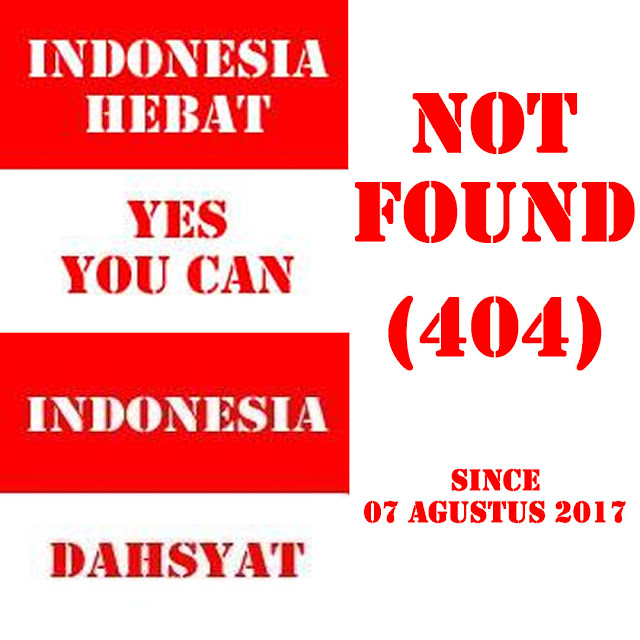 Ini Alasan blog Indonesia Hebat dan blog Indonesia Dahsyat dihapus