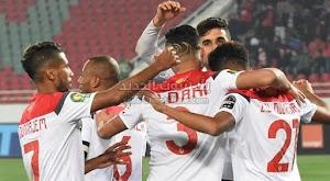 الوداد الرياضي يتغلب على فريق الجيش الملكي بهدف وحيد في الدوري المغربي