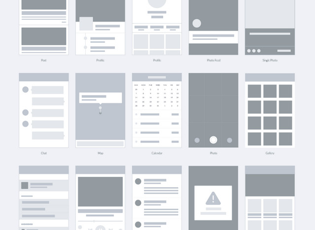 20 free helpful wireframe and flowchart resources