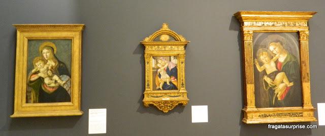 Telas de Botticelli no Museu Soumaya, Cidade do México
