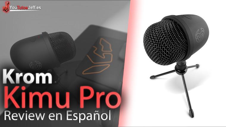 Impactante Microfono Krom Kimu Pro Review Español