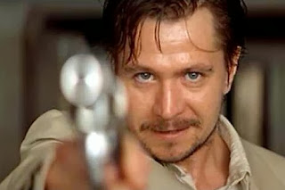 Gary Oldman as the DEA agent Stansfield in Léon: The Professional, Directed by Luc Besson