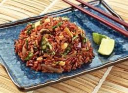 cara memasak beras merah organik