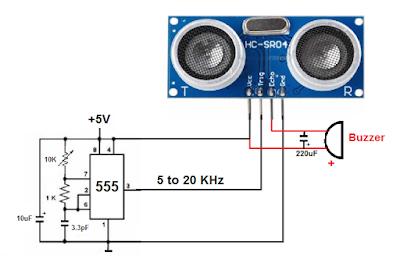Using ultrasonic sensor without arduino