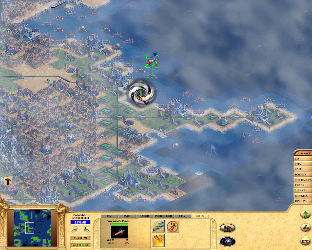 Civilization: Call to Power Wormhole